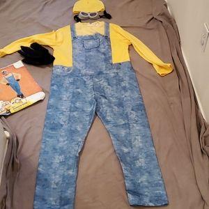 Despicable Me Mionon Costume Child L